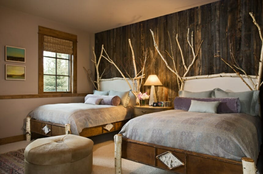 Natural Textures Rustic Bedroom Andesite Residence For