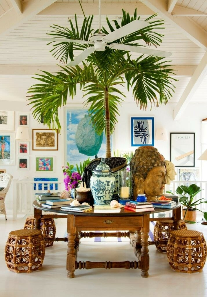 How to bring the tropics into your home interior for Tropical interior design ideas
