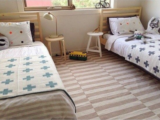 shared kids rooms gender neutral design