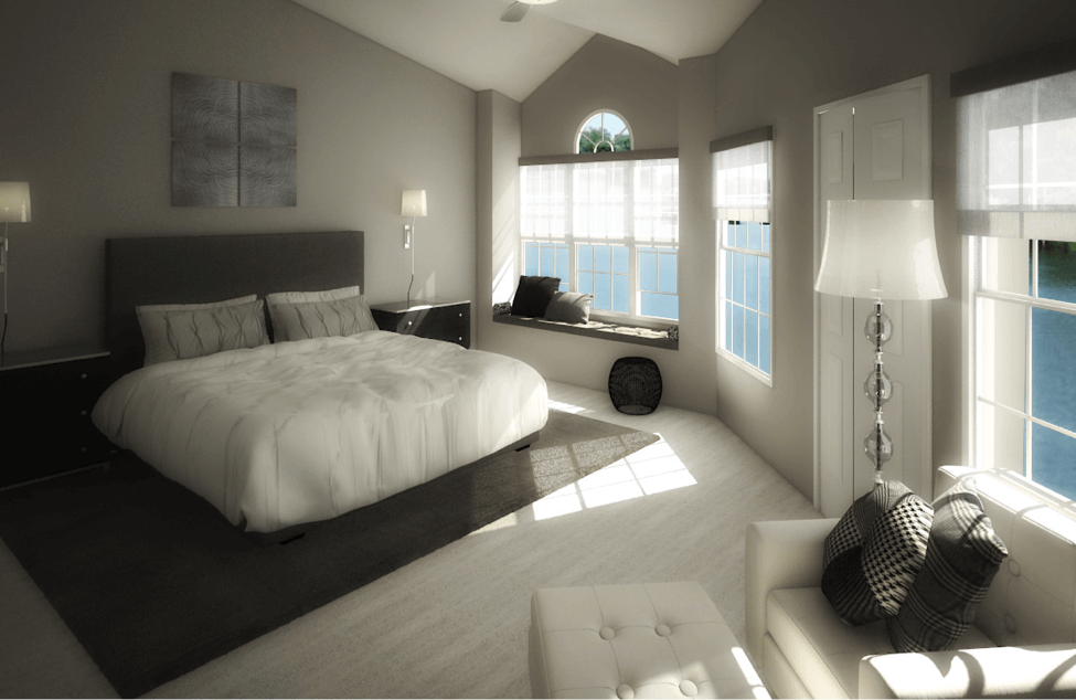 Decorilla Monochromatic Bedroom Design
