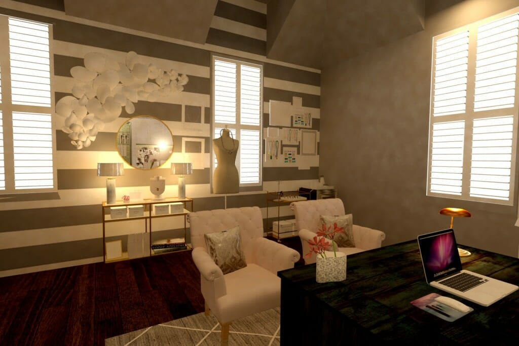 Decorilla interior designer spotlight Cristina Ramirez home office
