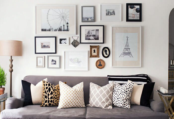 Your Guide to Creating the Perfect Gallery Wall : Gallery Walls 1 from www.decorilla.com size 700 x 480 jpeg 219kB