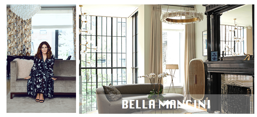 fabric interiors top ny interior designers Top NYC interior designers Bella Mancini