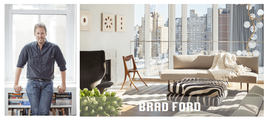 Top NYC interior designers Brad Ford