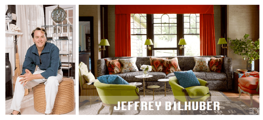 Top NYC interior designers Jeffrey Bilhuber