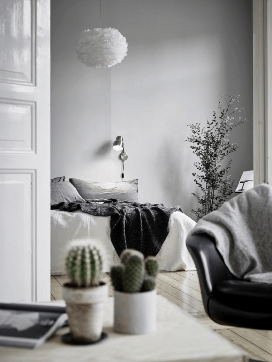 5 tips to create the perfect monochromatic room for Modern home decor tumblr