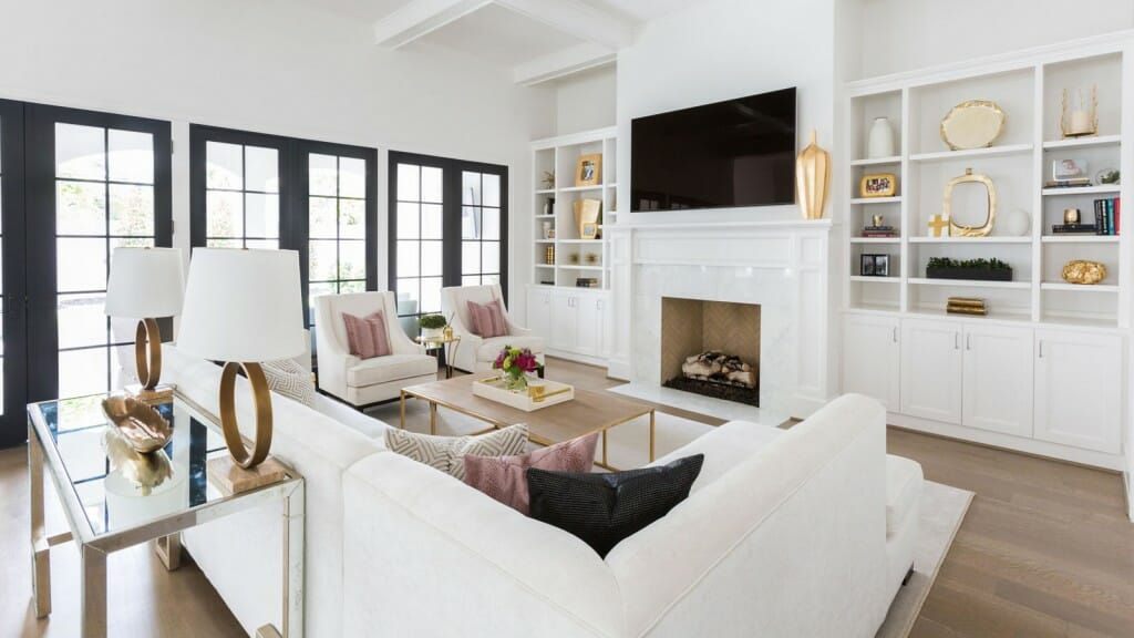 Houston interior designer Laura Umansky living room