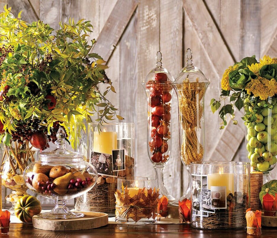 Thanksgiving Decoration Ideas ideas for easy thanksgiving decorating - decorilla