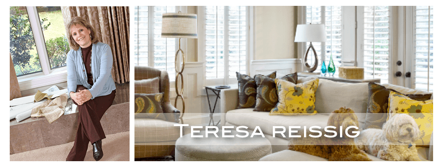 top Houston interior designer Teresa Reissig