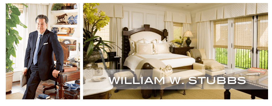 top Houston interior designer William Stubbs