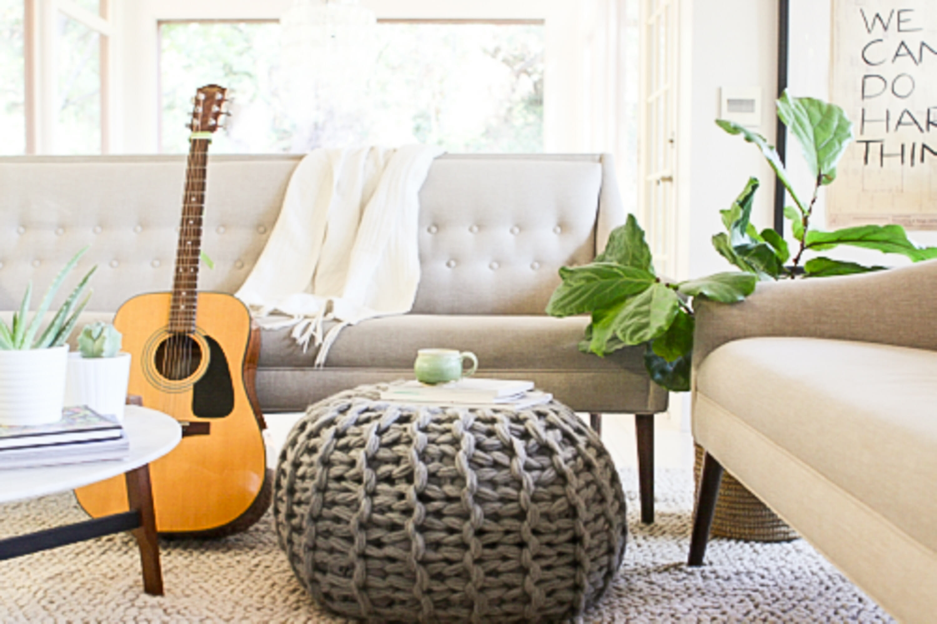 Winter Interior Design Trends Knitted Textiles