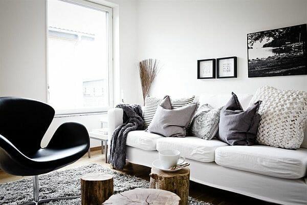 winter interior design trends shades of gray