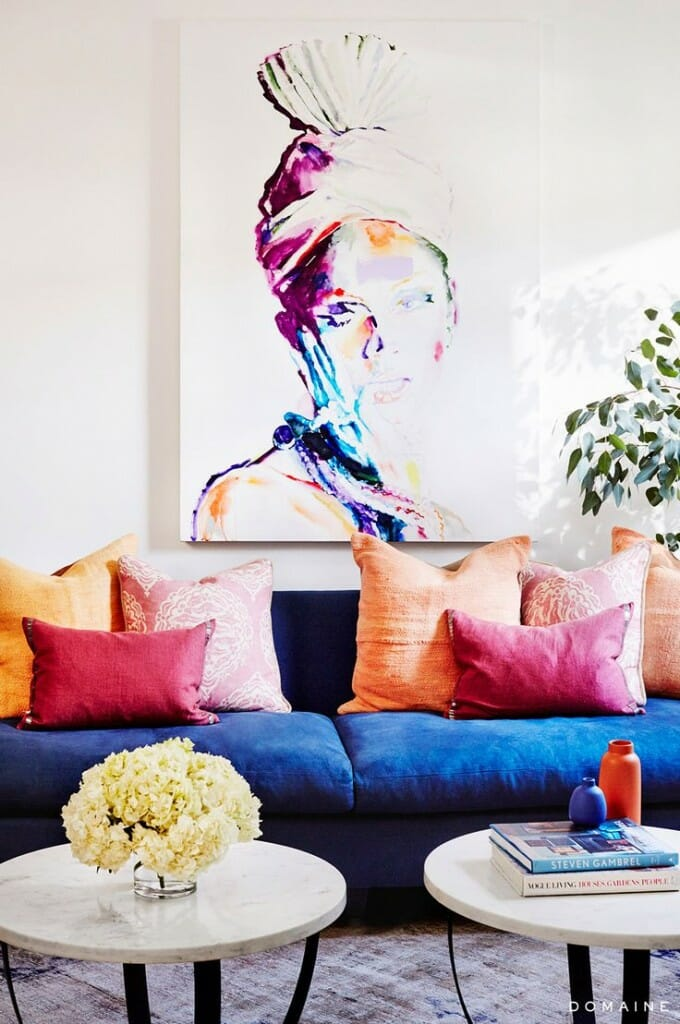 bold colors in interior design
