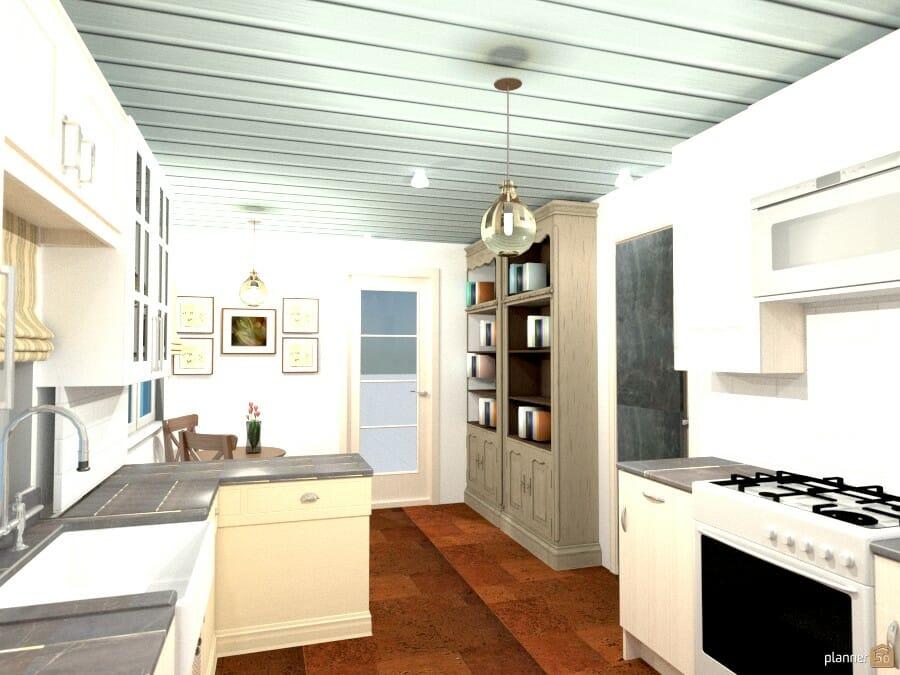 interior designer Sharon Copeland country kitchen
