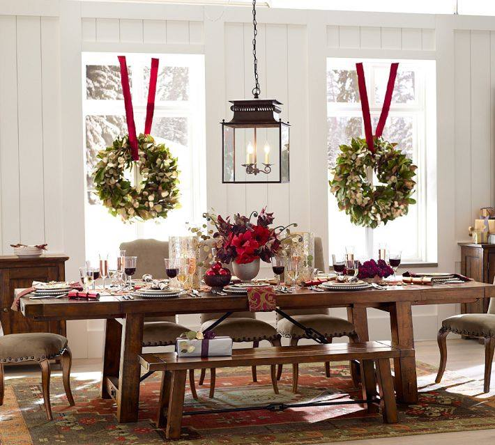 pottery barn christmas wreathes