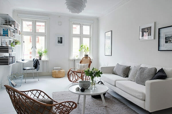 Elegant Scandinavian Design Botanicals Scandinavian Interior Design