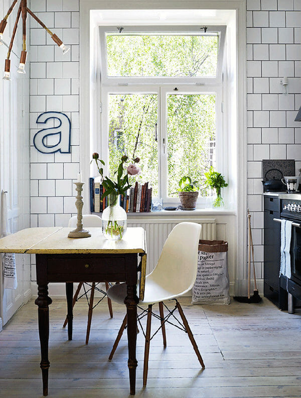 LIMITED WINDOW TREATMENTS. scandinavian design windows
