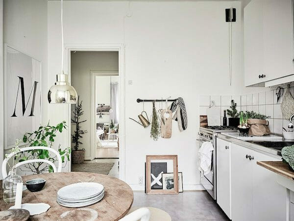 scandinavian design wood finish