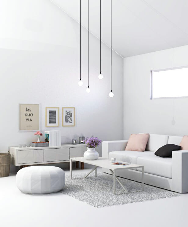 lighting is key scandinavian interior design