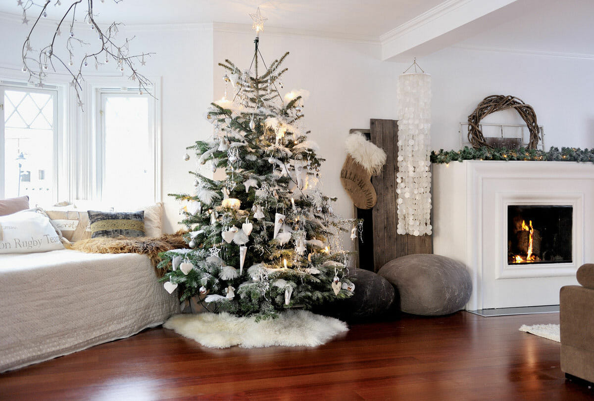 christmas tree decorations - Interior Christmas Decorating Ideas