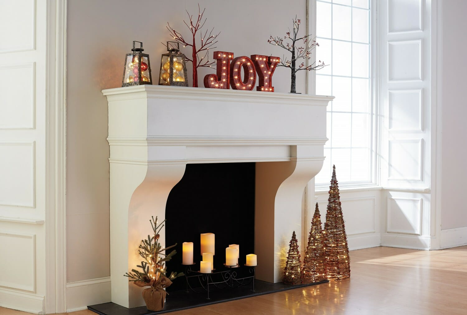 christmas word decorations
