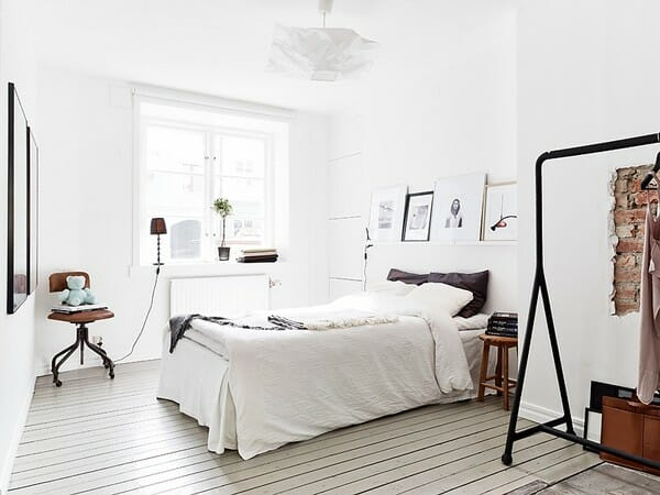 LIMITED WINDOW TREATMENTS. scandinavian design windows. Scandinavian  interior design bedroom