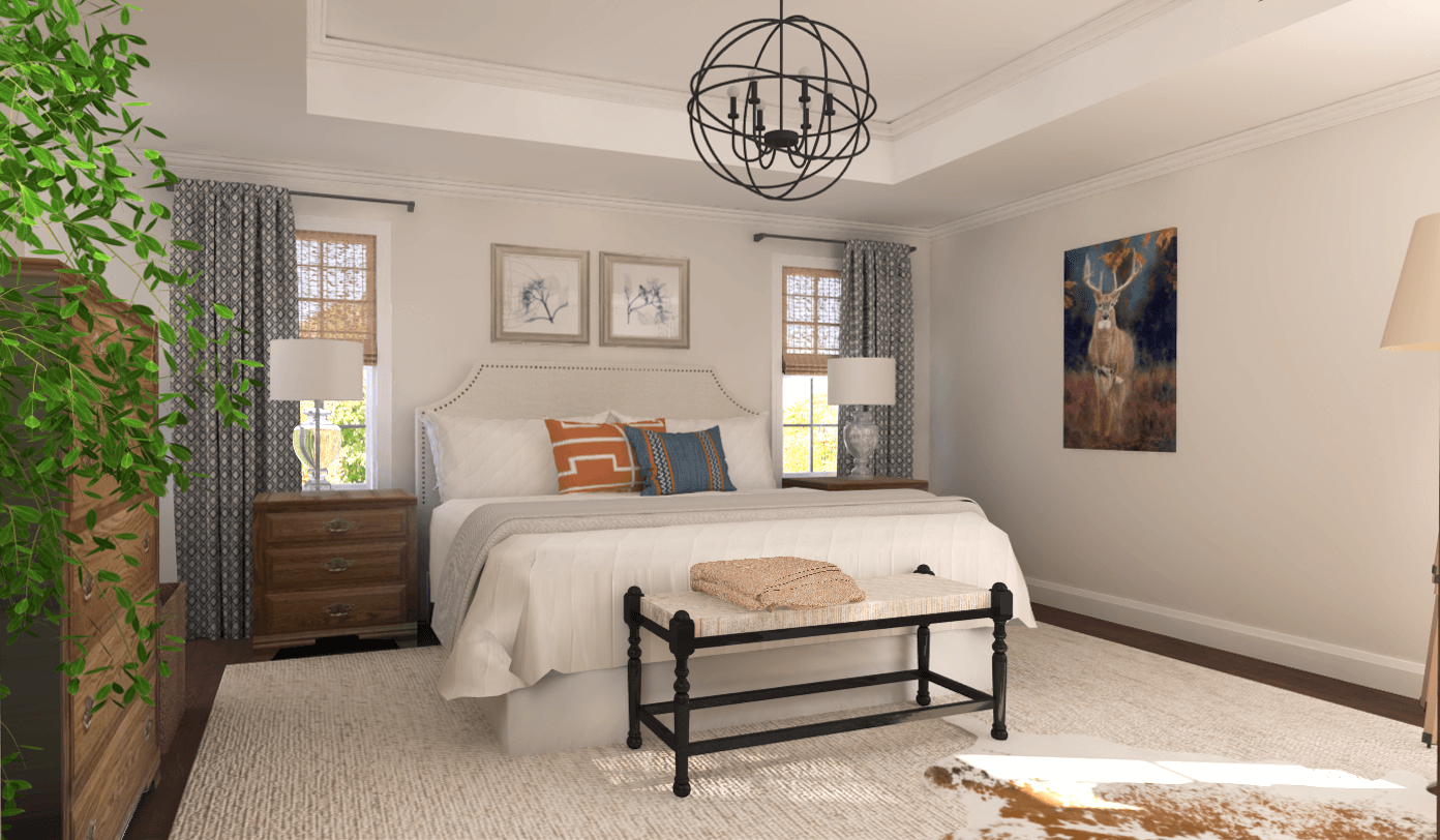 Before after new master bedroom ideas for Virtual bedroom makeover