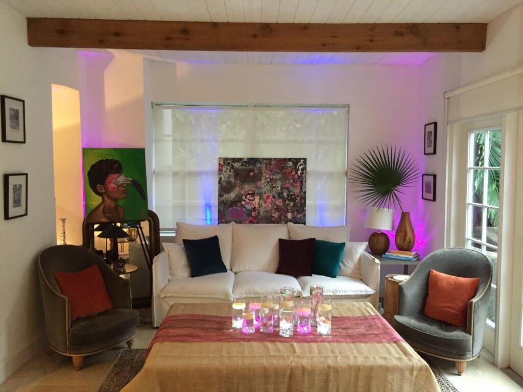 Decorilla interior designer Emily A. Airbnb