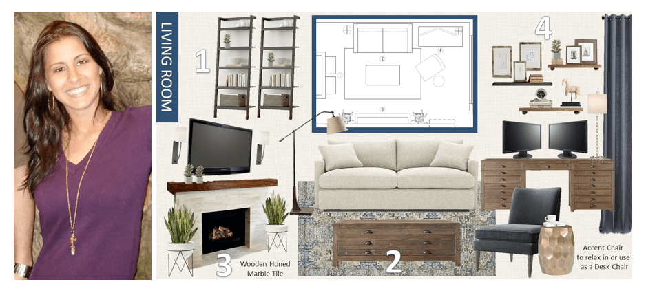 Decorilla interior designer Emily+moodboard