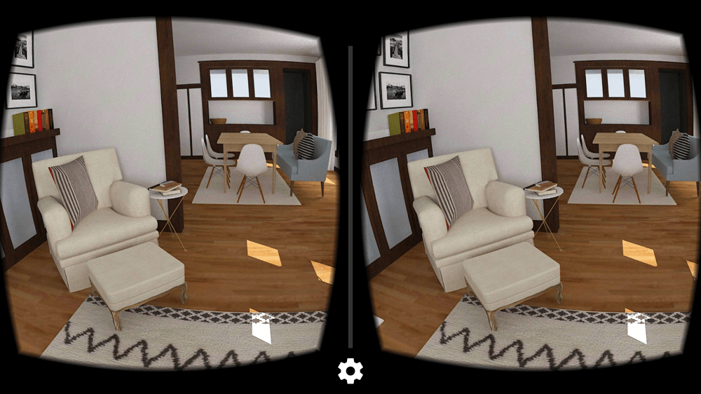 Living Room Interior Design VR (2)
