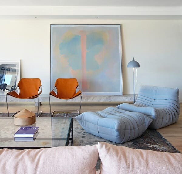 serenity living room design