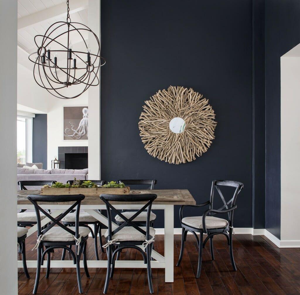 Interior renovation of La Jolla, California residence completed by Corine Maggio Natural Designs.