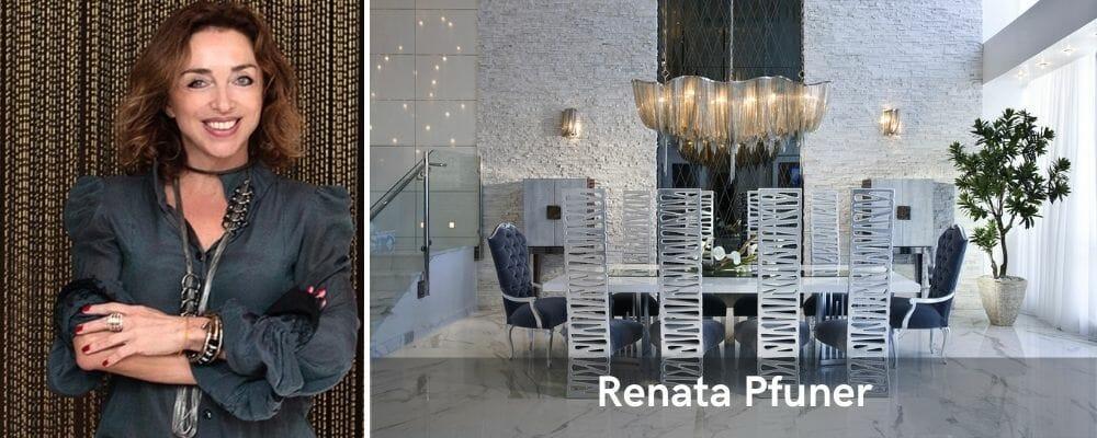 top Miami interior designer renata pfuner