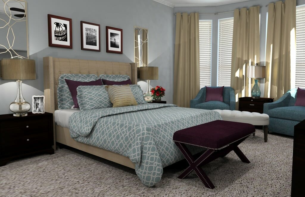 Decorilla online interior design bedroom