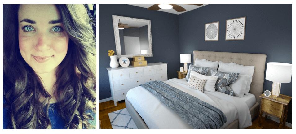 Online interior designer, Rachel H.