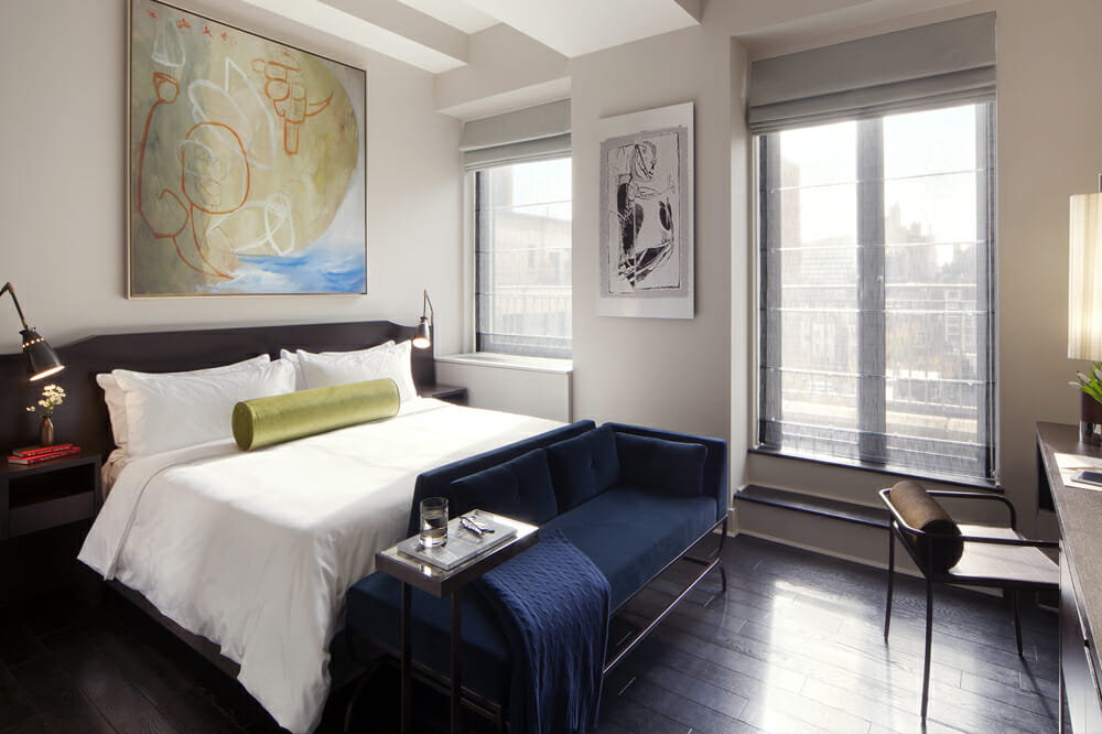 spring bedroom interior design pops
