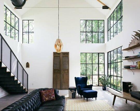 bare windows breaking interior design rules