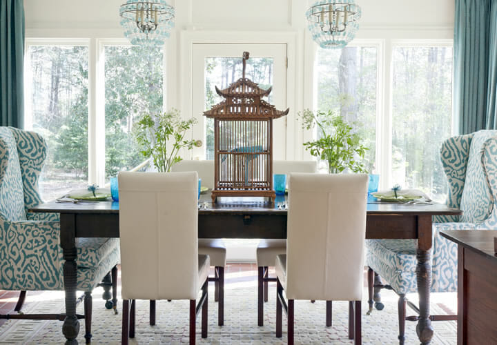 Interior Design Rules Mismatched Dining Chairs