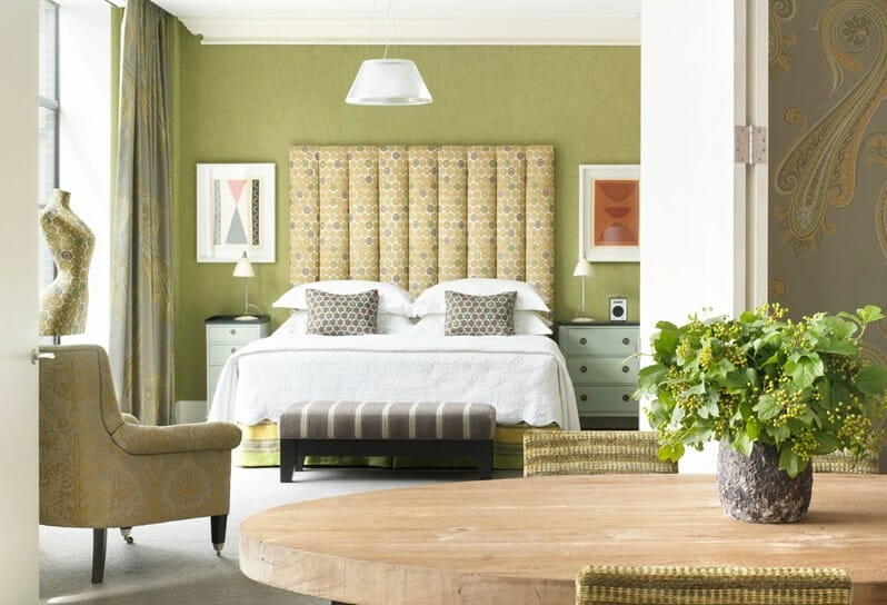 Crosby boutique hotel bedroom design