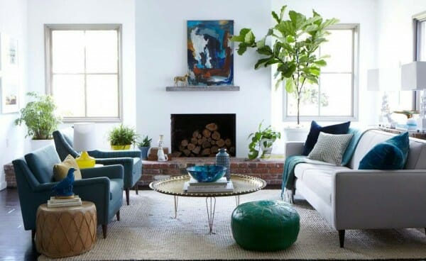 Emily Henderson living room design
