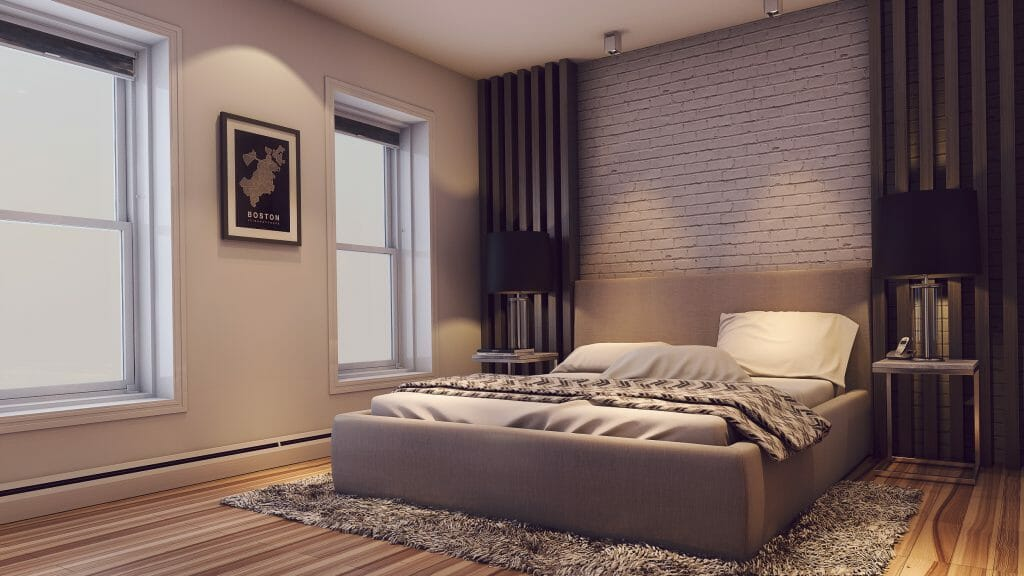 after Decorilla contemporary bedroom