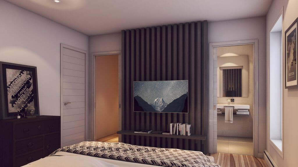 after Decorilla contemporary bedroom design