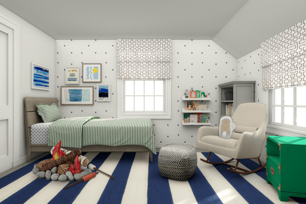 online interior design kid's room