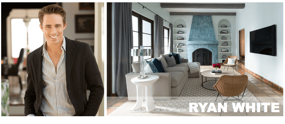 top Los Angeles interior designers Ryan White