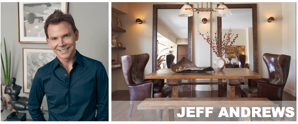 top Los Angeles interior designers Jeff Andrews