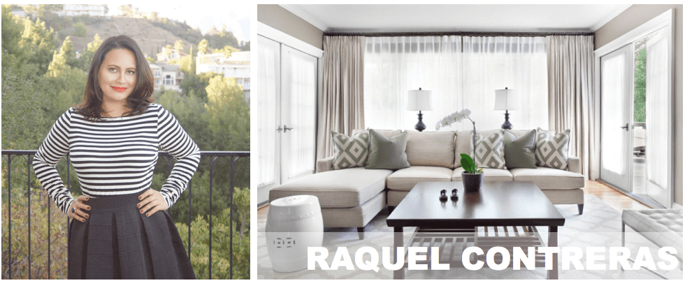 top Los Angeles interior designers Raquel Contreras