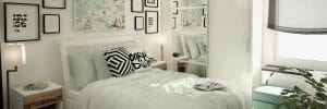 online interior design bedroom with storage