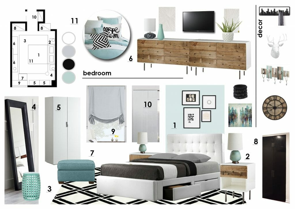 Before After Online Interior Designer Bedroom Decorilla