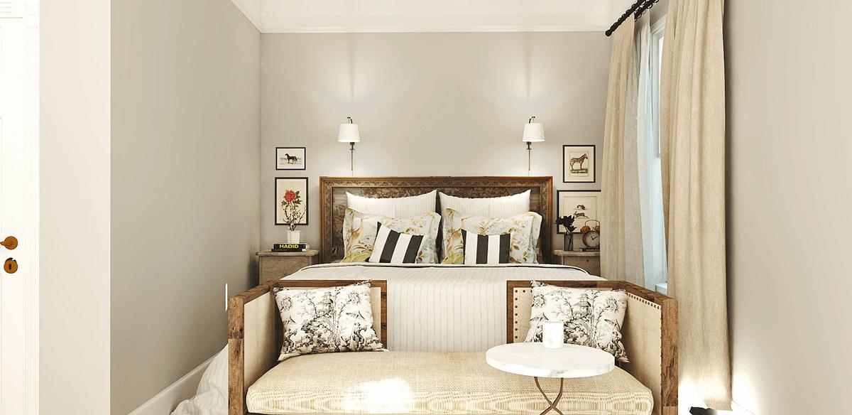 Before After Transitional Online Interior Designer Bedroom Decorilla