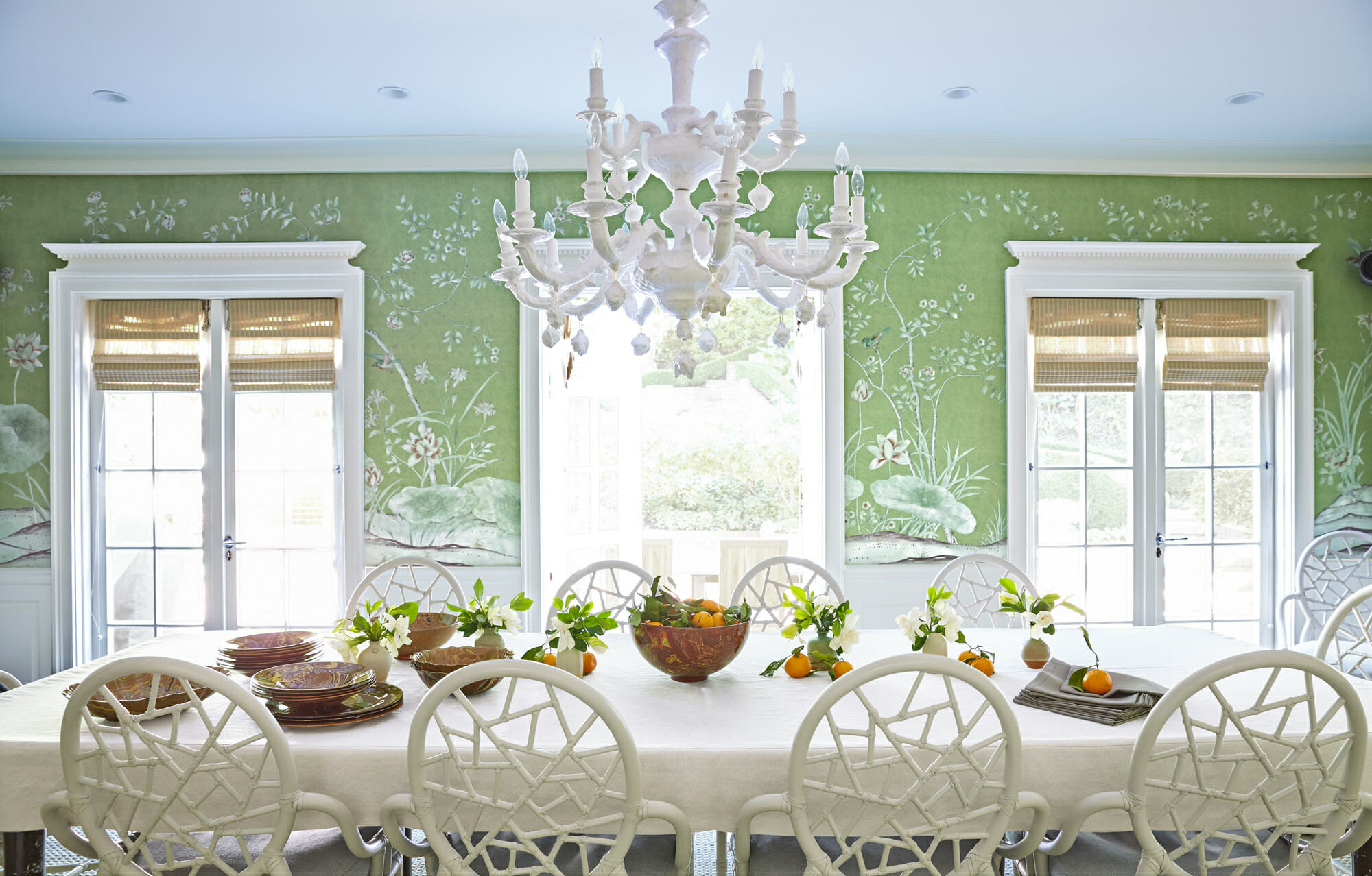 Color Of The Year 2017 By Pantone Is Greenery Dining Room